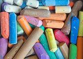 Colored chalk — Stock Photo