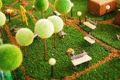 Garden miniature — Stock Photo
