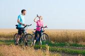 Relaxovat, cykloturistika — Stock fotografie