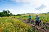 Relax biking — Stock Photo