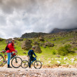 Two cyclists — Stock Photo #3542645