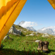 Stock Photo: Hiking concept