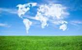World of clouds — Stock Photo