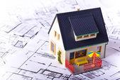 Huis — Stockfoto