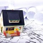 House plans — Stock Photo