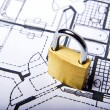 Lock plans — Stock Photo #3147088