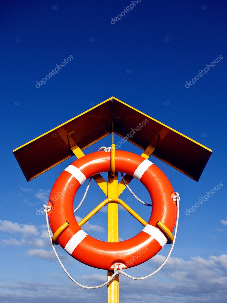 Lifeguard equipment — Stock Photo #3564798