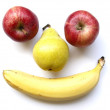 Fruit Face — Stock Photo