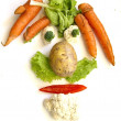 Vegetable Face — Stock Photo #2963849