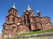 Uspensky Cathedral in Helsinki — Stock Photo