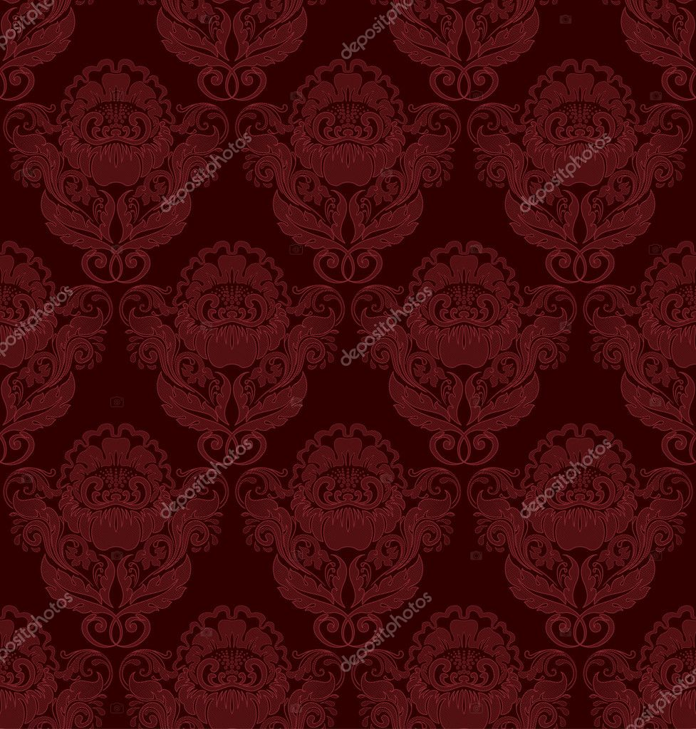 Seamless retro barocco background — Stok Vektör #3645682