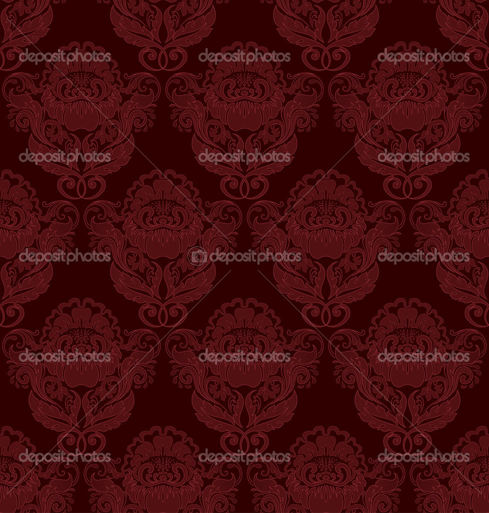 Seamless retro barocco background — Stockvectorbeeld #3645682