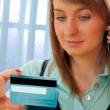 Credit card phone shopping — Stock Photo #3286996