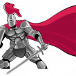 Stock Vector: Knight