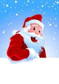 Happy Santa — Stock Vector