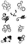 Collection of elements for design — Stock Vector