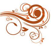 élément floral design — Vecteur