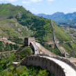 Great wall in Simatai — Stock Photo