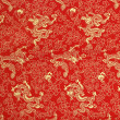 Texture of chinese silk - Stock Photo