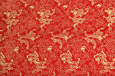 Texture of chinese silk — Stock Photo