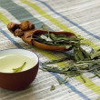 Cup of green tea — Stock Photo #3543469