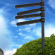 Direction sign — Stock Photo #2927425