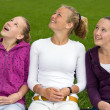 Stock Photo: Three young girls