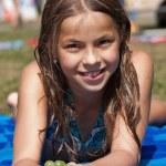 Cute little girl — Stock Photo #3874379