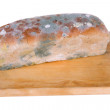 Stock Photo: Bread with foul mould