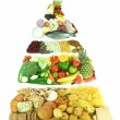 Food pyramid — Stock Photo #3505483