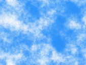 Blue sky seamless pattern — Stock Photo