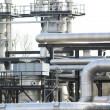 Stock Photo: Gas factory