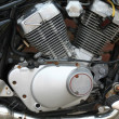 Detail of motorcycle — Stock Photo #2999053
