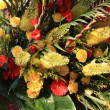 Yellow and orange flower arrangement - Stock Photo