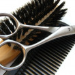 Hairdressers equipment — Stock Photo