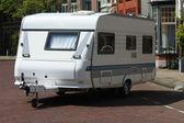 Tour caravan — Stock Photo