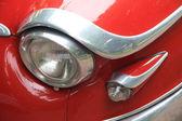 ヴィンテージのヘッドライトの詳細フランスの車 — ストック写真