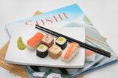 Sushi sanatı — Stok fotoğraf