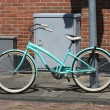 Light blue bike — 图库照片