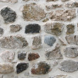 Details stone wall texture — Stock Photo