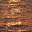 Sea water texture at sunset — Stock Photo #2743801