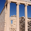 Erechtheum, Acropolis in Athens - Stock Photo