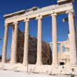 Erechtheum, Acropolis in Athens — Stock Photo