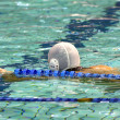 Water polo player — Stock Photo