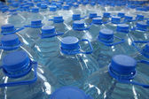 Stack bottled water — Stock Photo