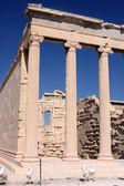 Erechtheum, Acropolis in Athens — Stock Photo