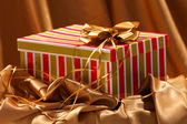 Weihnachtsgeschenkkasten — Stockfoto