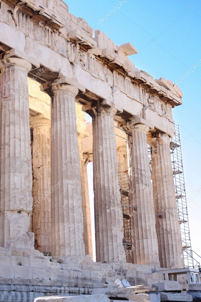 Details of Parthenon, Acropolis in Athens  — Stock Photo #2743919