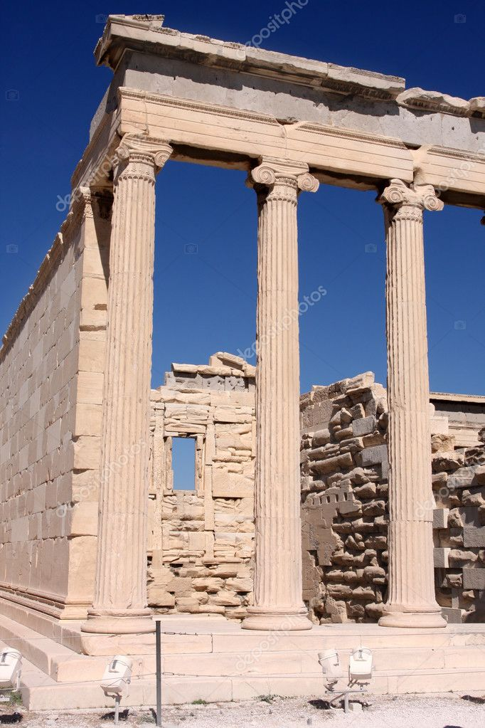 Acropolis in Athens  — Foto Stock #2744144
