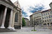 Cathédrale Saint-Pierre à Genève, Suisse — Photo
